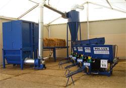 POL-LUX Линия для производства топливного брикета из соломы
